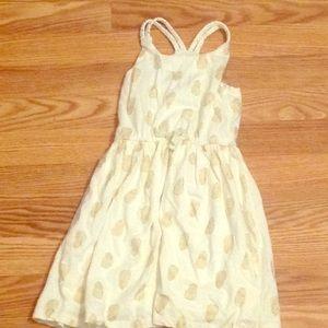 Maggie & Zoe lined girls summer dress Sz 5.